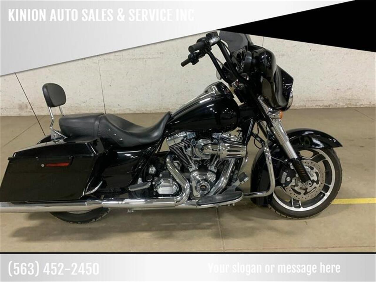 2012 Harley-Davidson Street Glide (CC-1314656) for sale in Clarence, Iowa