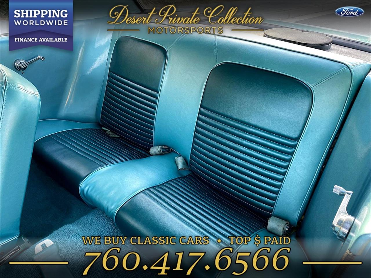 1967 Ford Mustang (CC-1314684) for sale in Palm Desert , California