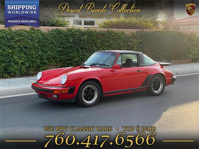 1984 Porsche 911 (CC-1314686) for sale in Palm Desert , California
