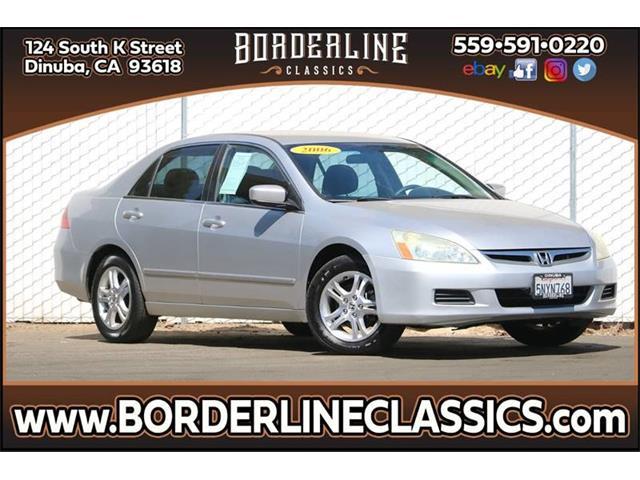 2006 Honda Accord (CC-1310482) for sale in Dinuba, California
