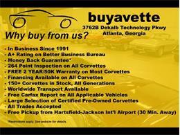 2001 Chevrolet Corvette (CC-1314916) for sale in Atlanta, Georgia