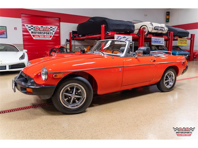 1977 MG MGB (CC-1314932) for sale in Glen Ellyn, Illinois