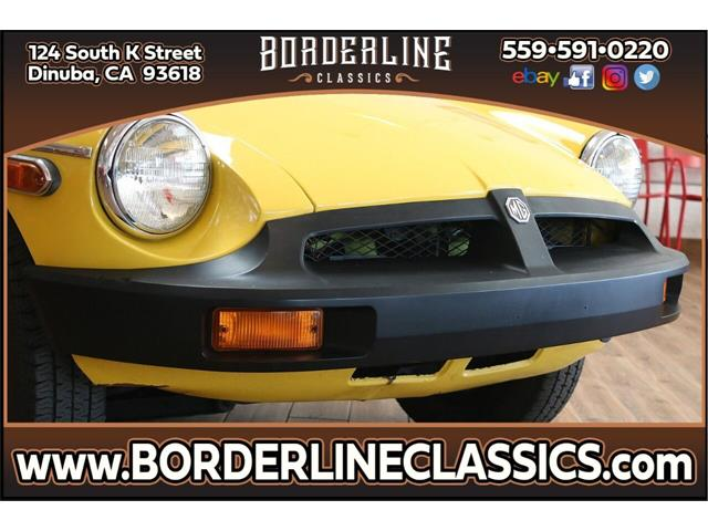 1980 MG MGB (CC-1310505) for sale in Dinuba, California
