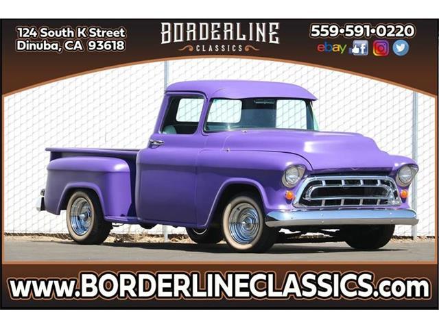 1957 Chevrolet C/K 1500 (CC-1310512) for sale in Dinuba, California