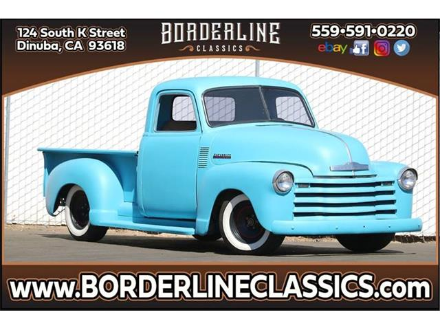1951 Chevrolet C/K 1500 (CC-1310515) for sale in Dinuba, California