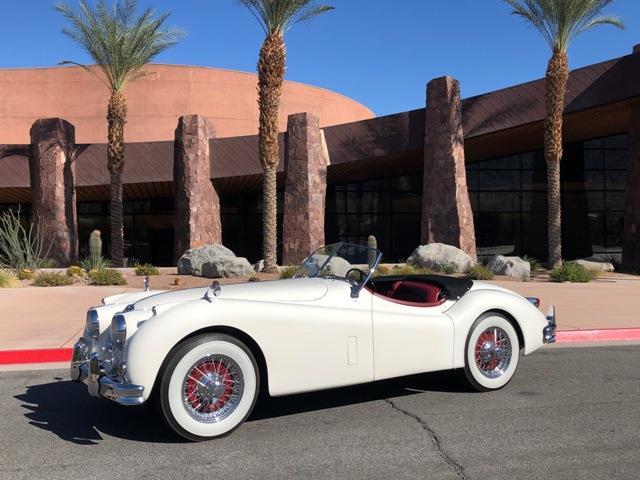 1956 Jaguar XK140 (CC-1315190) for sale in Palm Springs, California