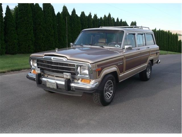 1987 Jeep Grand Wagoneer (CC-1315225) for sale in Palm Springs, California