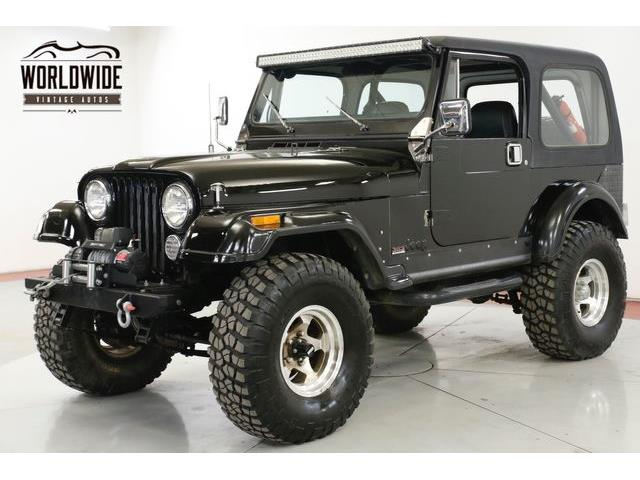 1986 Jeep CJ7 (CC-1315433) for sale in Denver , Colorado