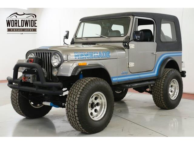 1985 Jeep CJ7 (CC-1315440) for sale in Denver , Colorado