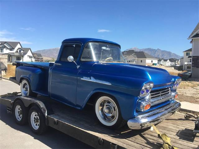 1958 Chevrolet Apache (CC-1315471) for sale in West Pittston, Pennsylvania