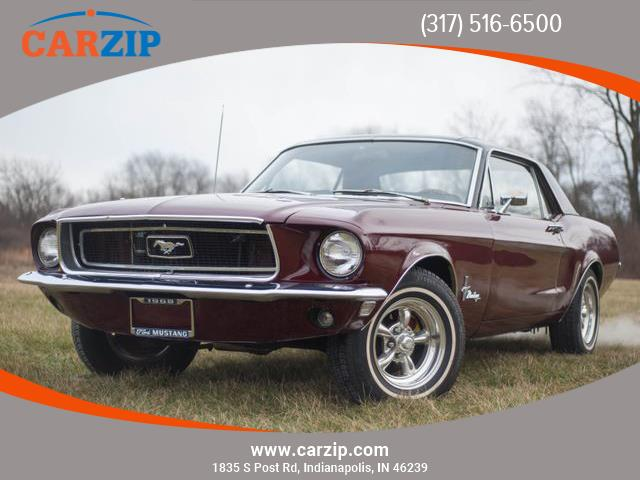 1968 Ford Mustang (CC-1315533) for sale in Indianapolis, Indiana