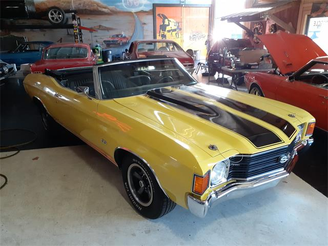 1972 Chevrolet Chevelle Malibu SS (CC-1315585) for sale in jacksonville, Florida