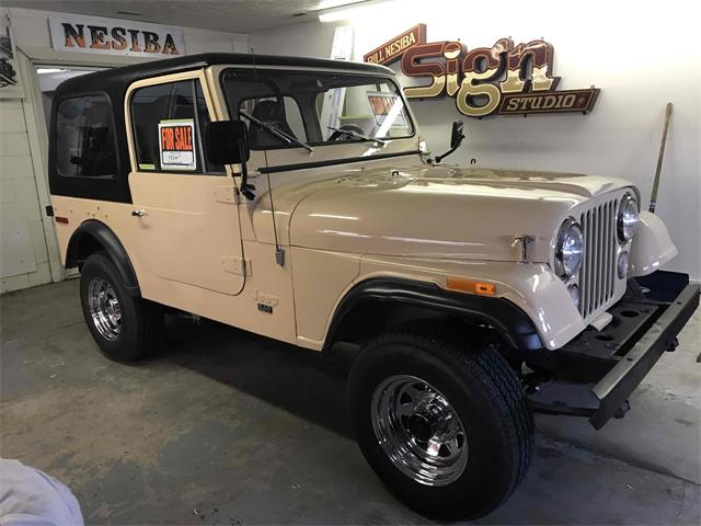 1976 Jeep CJ7 (CC-1315587) for sale in Grand Island, Nebraska
