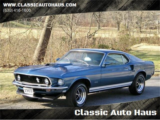 1969 Ford Mustang (CC-1315627) for sale in Geneva, Illinois
