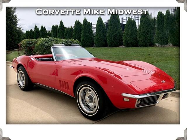 1968 Chevrolet Corvette (CC-1315637) for sale in Burr Ridge, Illinois