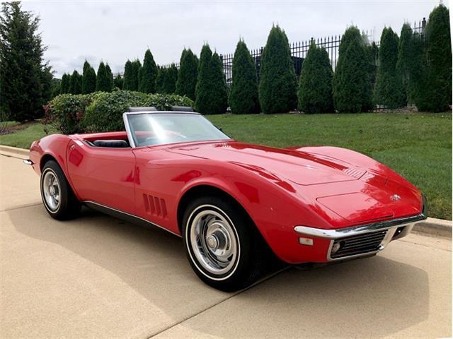 1968 Chevrolet Corvette (CC-1315637) for sale in Burr Ridge, Illinois