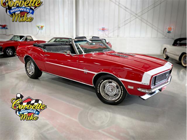 1968 Chevrolet Camaro (CC-1315648) for sale in Burr Ridge, Illinois
