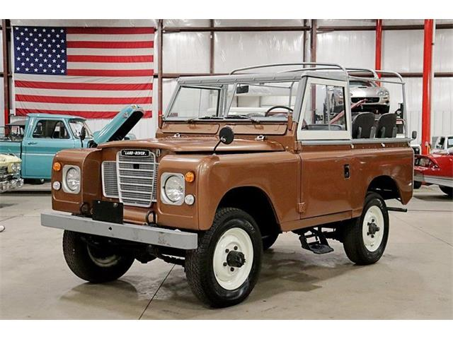 1975 Land Rover Series I (CC-1315684) for sale in Kentwood, Michigan