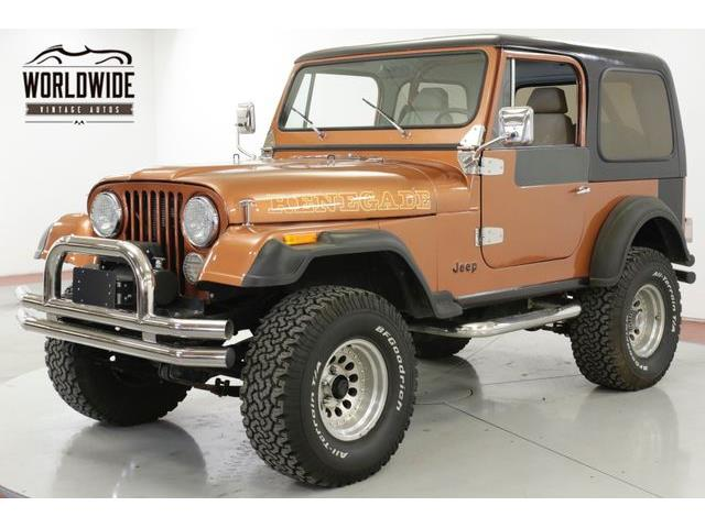 1981 Jeep CJ7 (CC-1315694) for sale in Denver , Colorado
