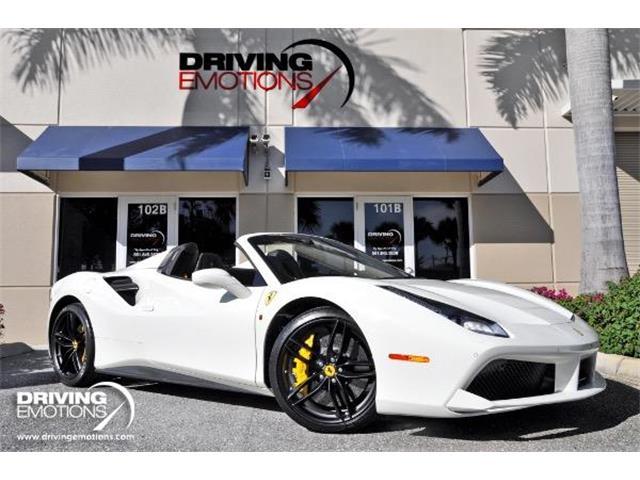 2017 Ferrari 488 Spider (CC-1315716) for sale in West Palm Beach, Florida