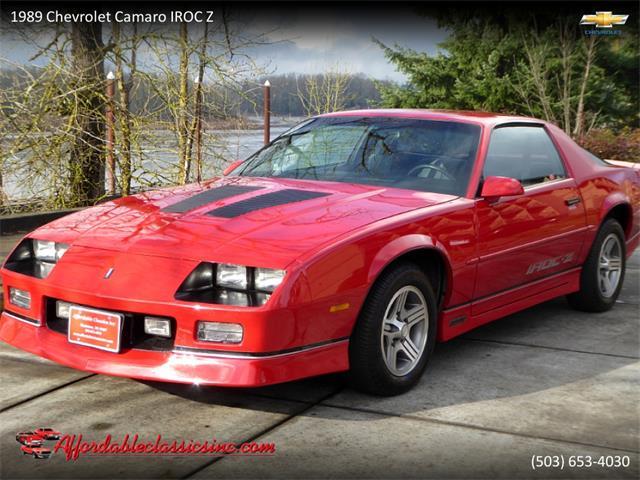 1989 Chevrolet Camaro IROC-Z (CC-1315763) for sale in Gladstone, Oregon