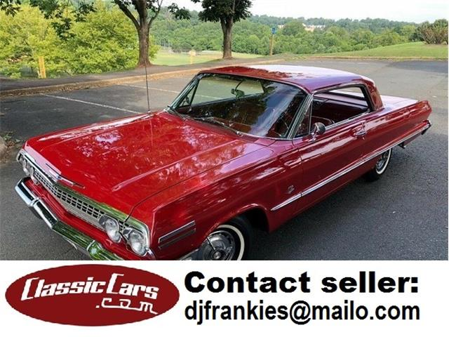1963 Chevrolet Impala SS (CC-1315881) for sale in Los Angeles, California