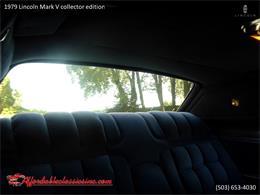 1979 Lincoln Mark V (CC-1316102) for sale in Gladstone, Oregon