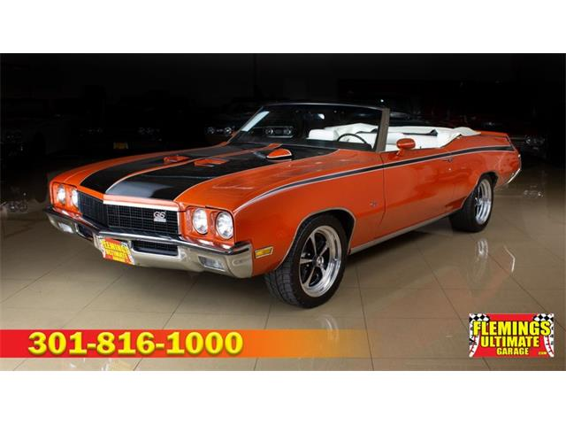 1972 Buick GSX (CC-1316141) for sale in Rockville, Maryland