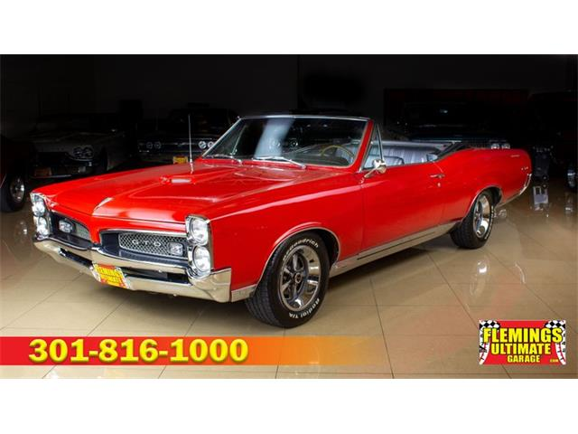 1967 Pontiac GTO (CC-1316142) for sale in Rockville, Maryland