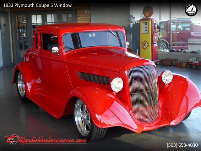 1933 Plymouth 5-Window Coupe (CC-1316144) for sale in Gladstone, Oregon