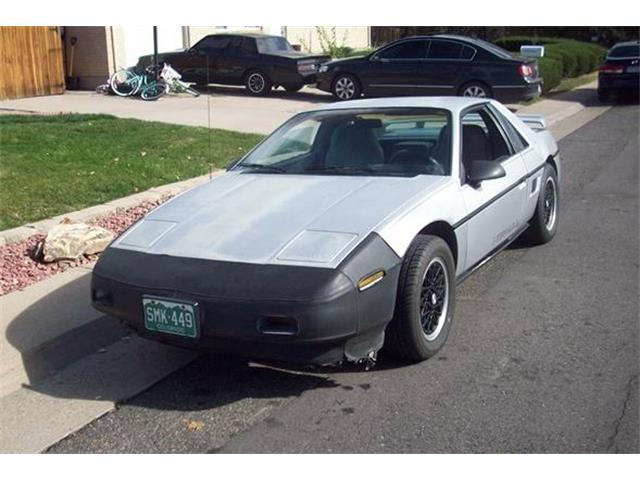 1988 Pontiac Fiero (CC-1316198) for sale in Arvada, Colorado