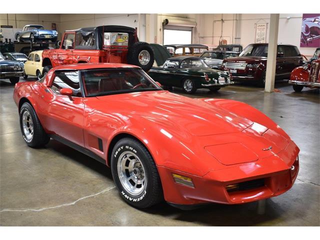 1981 Chevrolet Corvette (CC-1316235) for sale in Costa Mesa, California