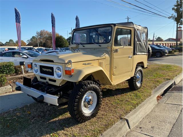 1980 Toyota Land Cruiser FJ (CC-1316277) for sale in Greensboro, North Carolina