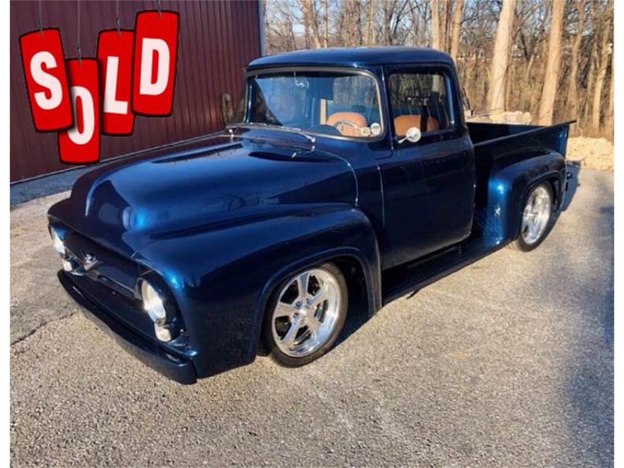1956 Ford F100 (CC-1316361) for sale in Clarksburg, Maryland