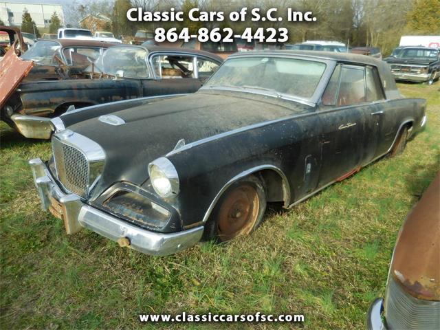 1962 Studebaker Gran Turismo (CC-1316704) for sale in Gray Court, South Carolina