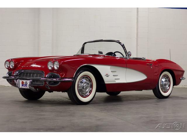 1961 Chevrolet Corvette (CC-1317110) for sale in Jackson, Mississippi