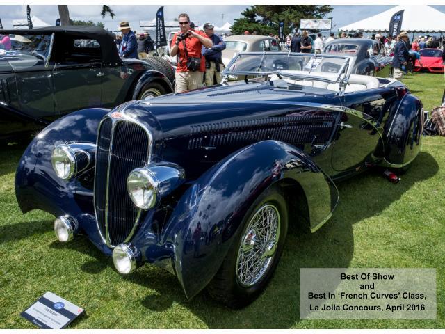 1936 Delahaye 135 Competition (CC-1317175) for sale in La Jolla, California