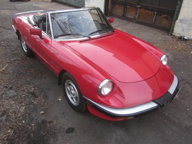 1986 Alfa Romeo 2000 Spider Veloce (CC-1317183) for sale in Stratford, Connecticut