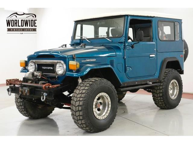 1975 Toyota Land Cruiser FJ (CC-1317207) for sale in Denver , Colorado