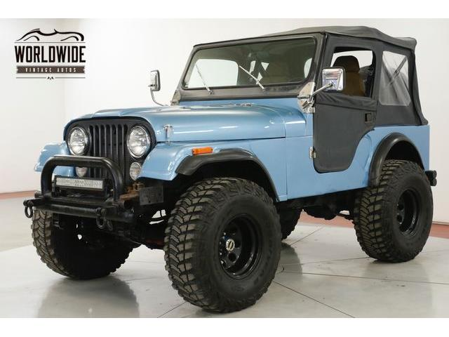 1981 Jeep CJ5 (CC-1317212) for sale in Denver , Colorado
