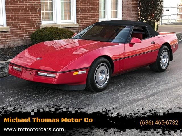 1986 Chevrolet Corvette (CC-1317326) for sale in Saint Charles, Missouri