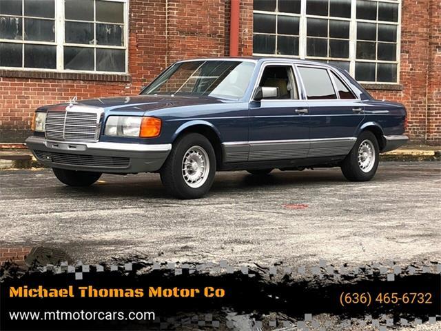 1981 Mercedes-Benz 500 (CC-1317328) for sale in Saint Charles, Missouri