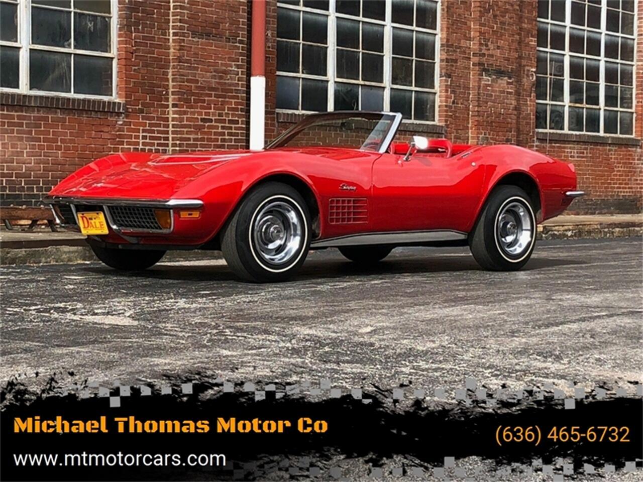 1972 Chevrolet Corvette (CC-1317329) for sale in Saint Charles, Missouri