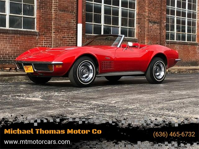 1972 Chevrolet Corvette (CC-1317329) for sale in Saint Charles, Missouri
