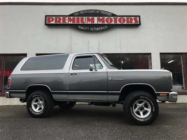 1986 Dodge Ramcharger (CC-1310743) for sale in Tocoma, Washington