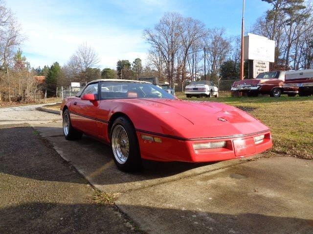 1986 Chevrolet Corvette (CC-1317578) for sale in Greensboro, North Carolina
