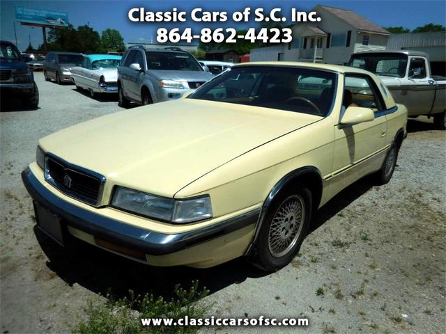 1989 Chrysler TC by Maserati (CC-1317591) for sale in Gray Court, South Carolina