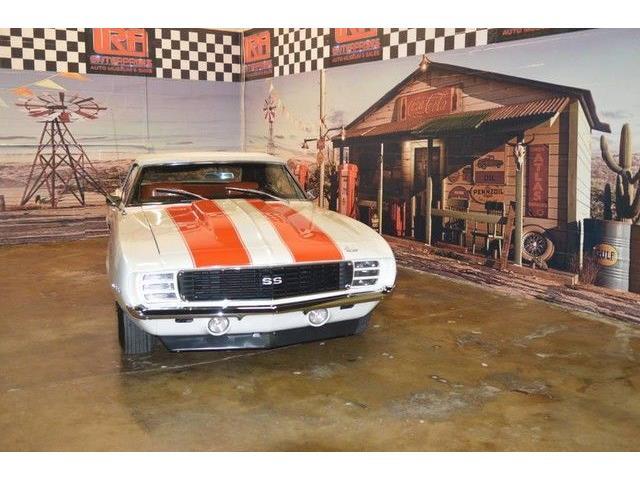 1969 Chevrolet Camaro (CC-1317617) for sale in Cadillac, Michigan