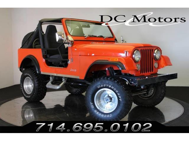 1981 Jeep Wrangler (CC-1317641) for sale in Anaheim, California