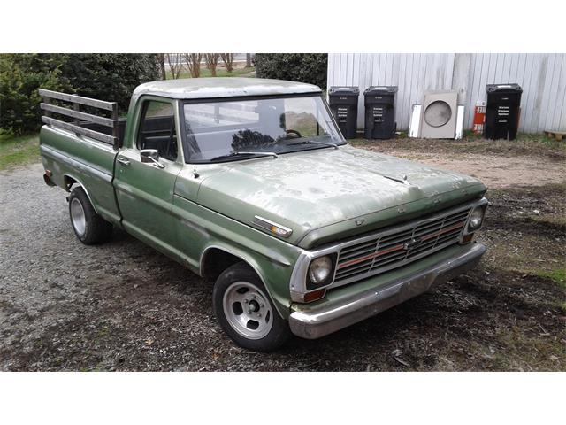1969 Ford F100 (CC-1317715) for sale in Kannapolis, North Carolina
